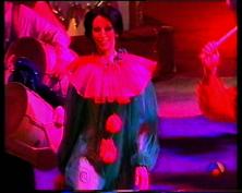 Lola Loberas en la pista del Circo del Arte